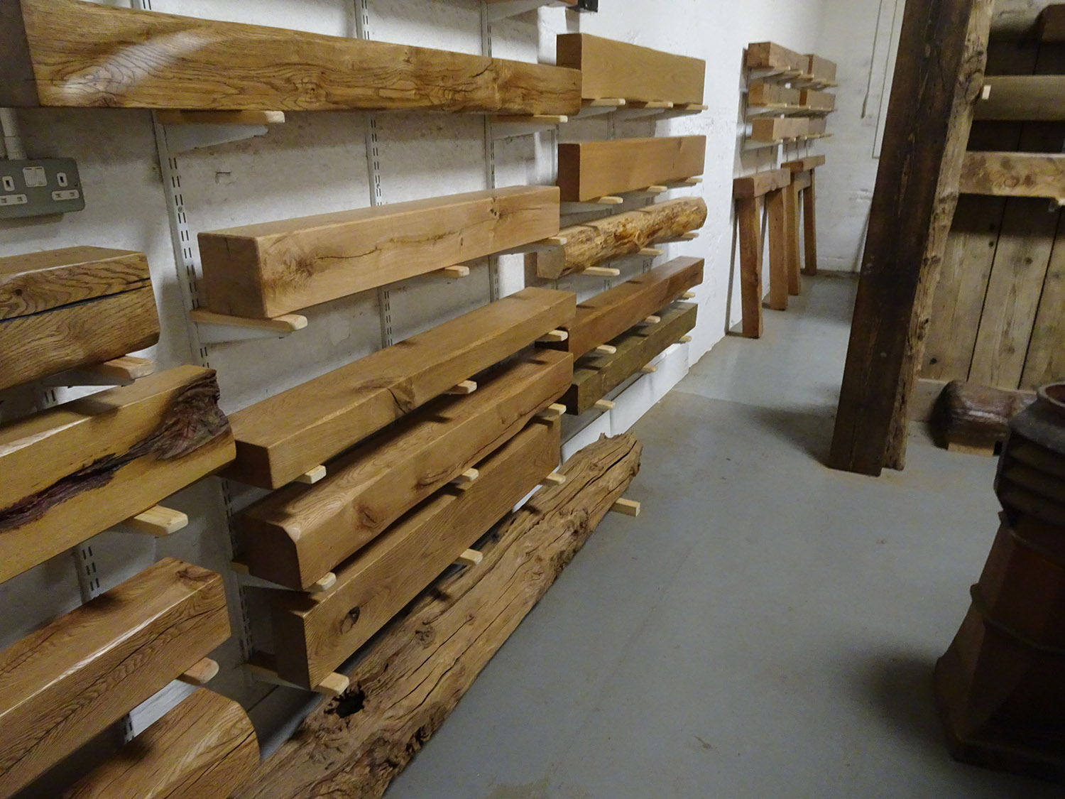 Fireplace Beams